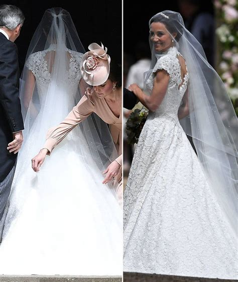 hochzeitskleid pippa middleton pippa middleton wedding lace wedding dress pictured made