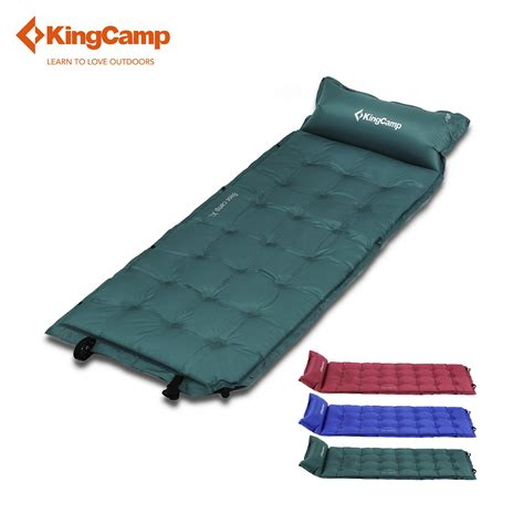 Backpacking Sleeping Mat by Kingc Self Inflating Sleeping Pad Cing Mat With