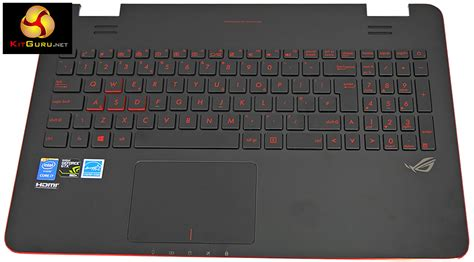Asus Rog Laptop Keyboard Price asus rog g551j gaming laptop review kitguru