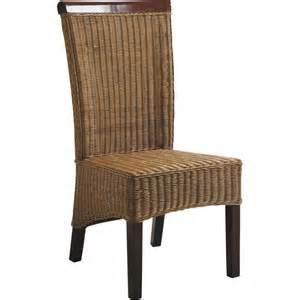 chaise en rotin et acajou mch1080 aubry gaspard