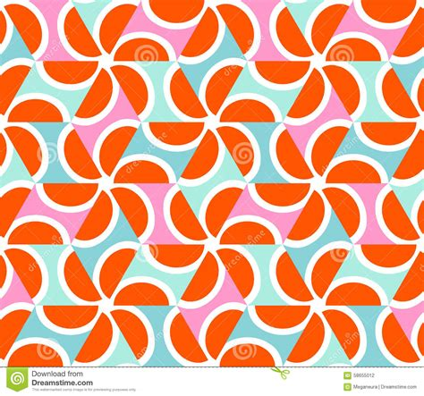 Sarung Tenun Motif Ahd Orange geometric abstract seamless pattern motif background stock vector illustration of orange