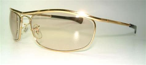 Sb 0376 Yellow vintage sunglasses product details ban olympian i de luxe