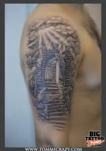 gates to heaven at the top my tattoo com