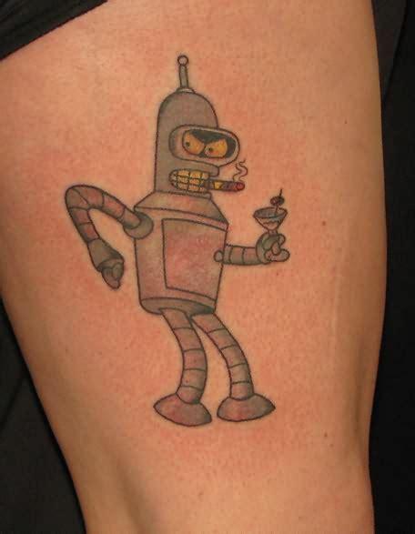 cartoon tattoo download robot cartoon tattoo