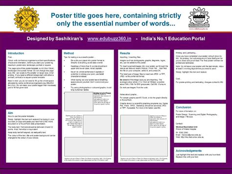 research poster design tutorial layout youtube