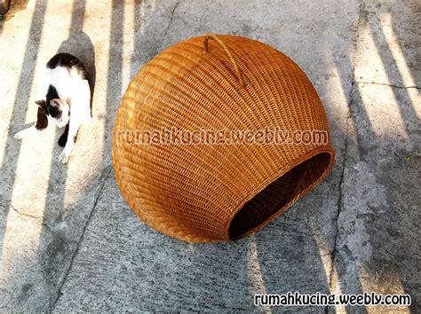 Kandang Kucing Rotan jual rumah kucing rotan kualitas export korea belanda