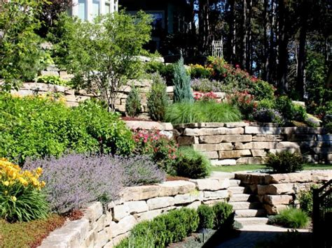 sloped backyard landscaping ideas image of steep slope landscaping ideas on a sloped front