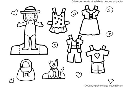 colouring mazes dot dotpages2enjoy cut out paper dolls