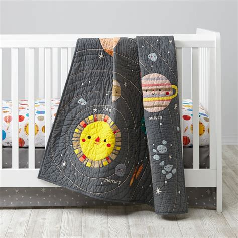 land of nod crib bedding deep space crib bedding the land of nod
