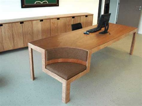 chair with built in desk park your bicycle indoors and enjoy its chair function