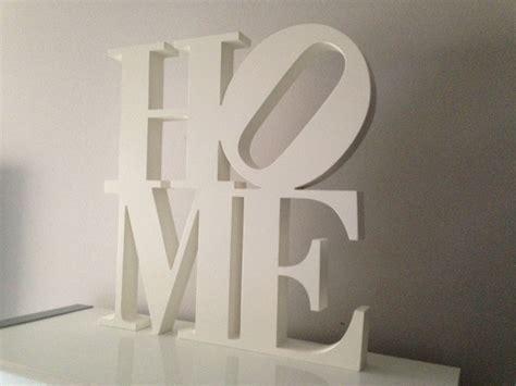 letras home decoracion letras de madera blancas dise 241 o home decoraci 243 n y