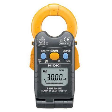 Multimeter Constant 50 hioki 3293 50 ac cl on leak hitester meter digital
