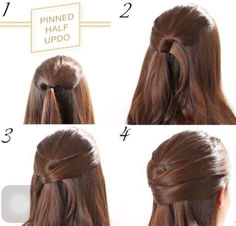 diy hairstyles half up m 225 s de 25 ideas incre 237 bles sobre clinejas para cabello