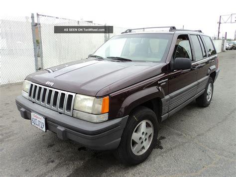 1993 Jeep Grand Laredo 1993 Jeep Grand Laredo Sport Utility 4 Door 5 2l