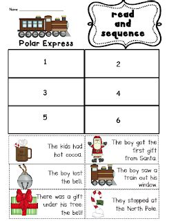 polar express printable activity sheets sarah s first grade snippets polar express unit with two