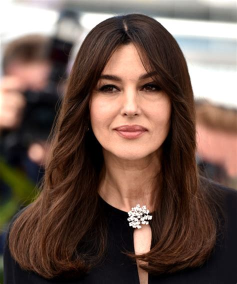 monica bellucci face shape hairstyles and haircuts in 2017 thehairstyler