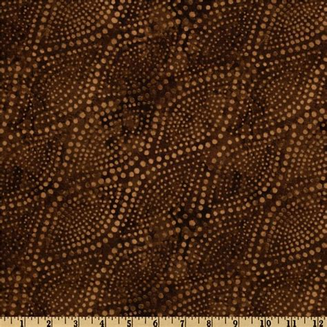 Chocolate Brown Quilt by 108 Wide Diagonal Dots Quilt Backing Chocolate Brown