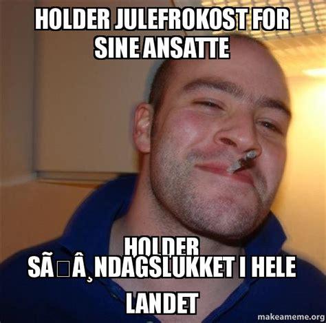 Theradbrad Meme - holder julefrokost for sine ansatte holder s 195 184 ndagslukket