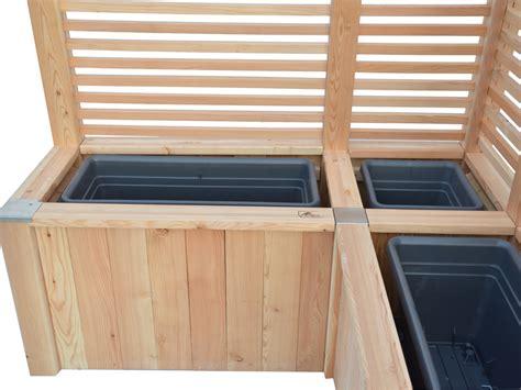 Hochbeet Als Sichtschutz Bepflanzen by Hochbeet Aus Holz Mit Rankgitter Als Sichtschutz Und