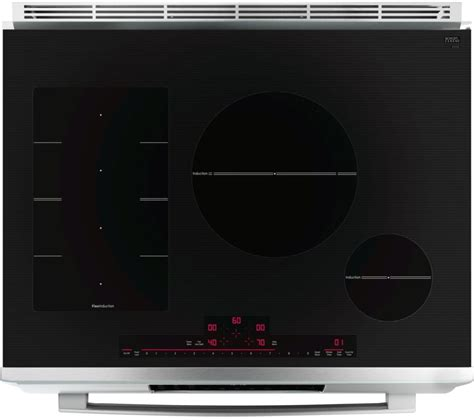 bosch benchmark induction cooktop bosch hiip055u 30 inch slide in induction range with true