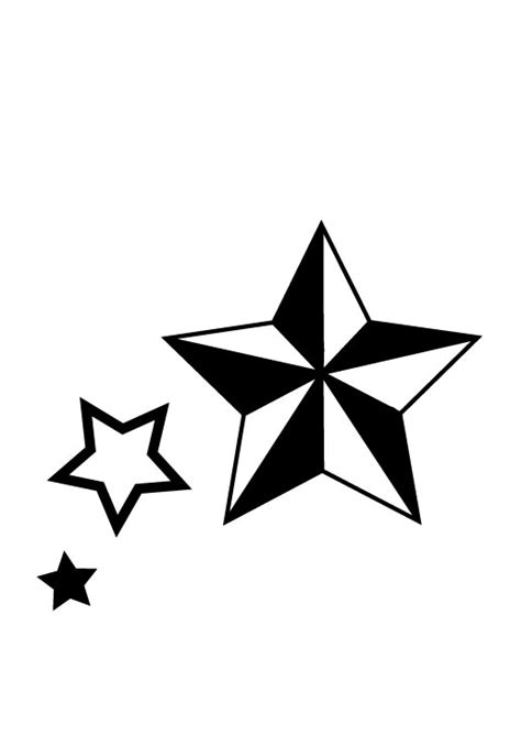simple star tattoo designs nautical design by ras blackfire on deviantart