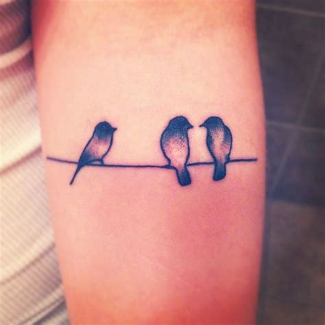 108 Small Tattoo Ideas And Epic Designs For Small Tattoos 3 Birds Designs