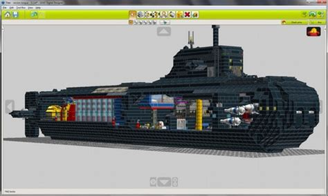 lego digital designer templates of titan side exploded view a lego 174 creation by