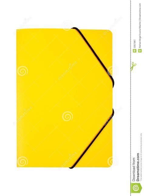 salita amarilla frases para carpeta carpeta amarilla aislada fotograf 237 a de archivo libre de