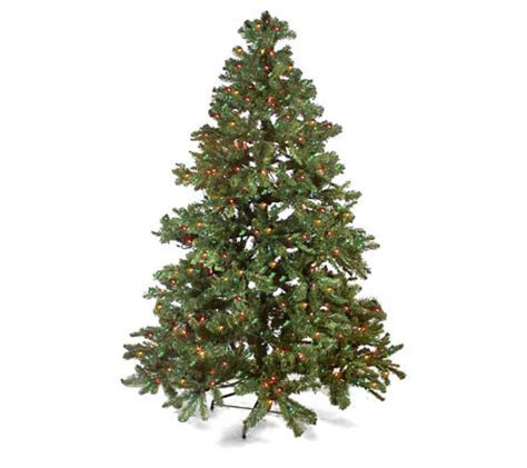 7 pre lit christmas tree with twinkle option qvc com