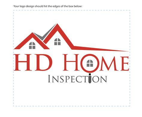 home inspection logo design logo design for hd home inspection by mraheelm design
