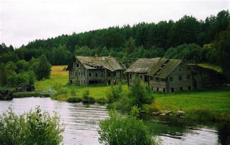file karelia houses jpg wikimedia commons