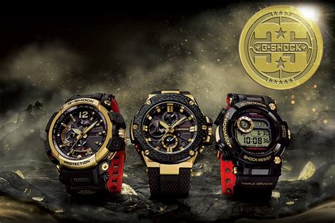 G Shock Gst 8600 Gold Emas Gshock Gpw 8600 Jam Tangan casio to release gold tornado 35th anniversary g shock collection