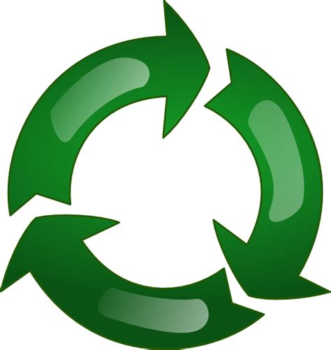 free printable clip art recycling recycle clip art at clker com vector clip art online