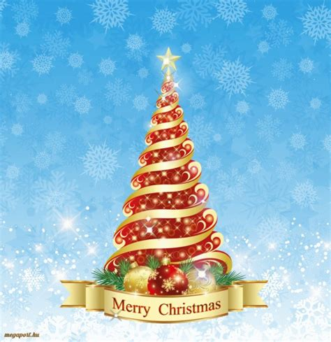 merry christmas tree gif animated ecard megaport media