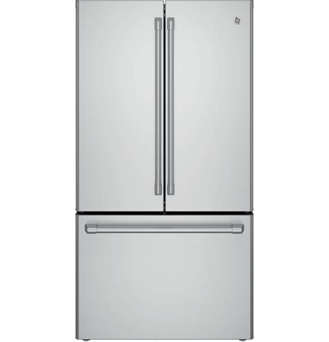 Gea M Rw6t2hh Stainless Steel Counter Chiller Maskitchen ge caf 233 series energy 174 23 1 cu ft counter depth door refrigerator cwe23sshss