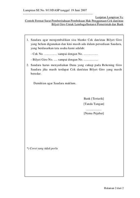 format surat kuasa setoran dengan warkat bca liran913baru