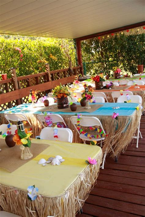 luau backyard party ideas 25 best ideas about luau birthday on pinterest kids