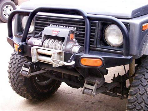 Suzuki Samurai Winch Bumpers Suzuki Samurai Winch Bumper Motorcycle Review And Galleries