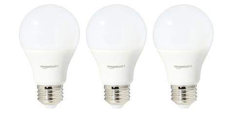 Led Light Bulb Deals Green Deals 6 Pack Amazonbasics 60w A19 Led Light Bulbs 12 More 9to5toys