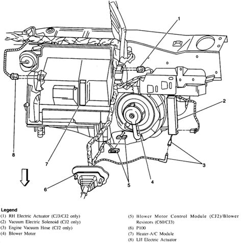 automobile air conditioning service 1998 buick regal engine control diagram of the vacuum hose for the ac