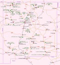 New Mexico Map Of Cities by Similiar Nm Road Map Printable Keywords