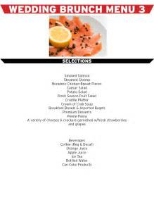 menu for brunch simply 187 brunch iii