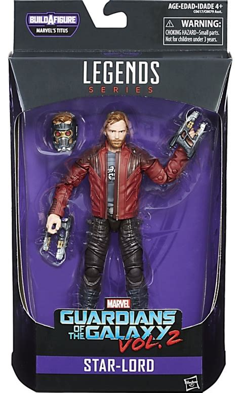 Original Hasbro Guardians Of Galaxy Vol 2 Lord Mix marvel guardians of the galaxy vol 2 marvel legends titus series lord 6 figure