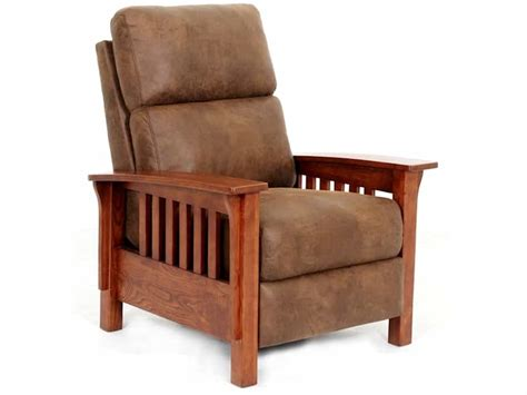 mission recliners tripoli mission recliner brown squirrel furniture