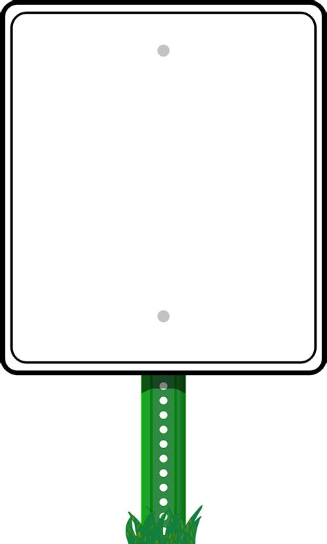 sign clipart clipart road sign border