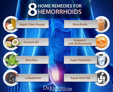 8 home remedies for hemorrhoids drjockers