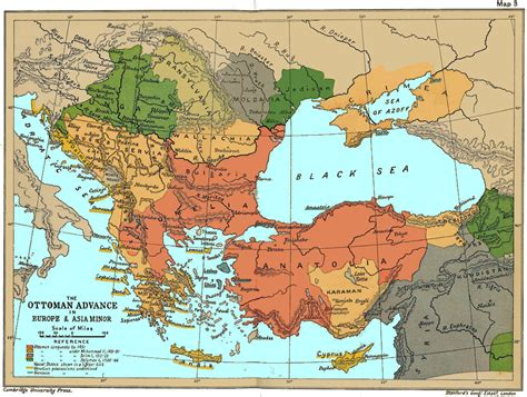 Ottoman Europe Map Of The Ottoman Conquests 1451 1566 Ottoman Conquest Of