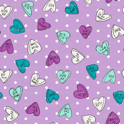 Promo Headband Baby Tamagoo Colourful Flora Headband Bayi Murah sweet hearts purple dots pastel mint and purple valentines hearts fabric andrea lauren