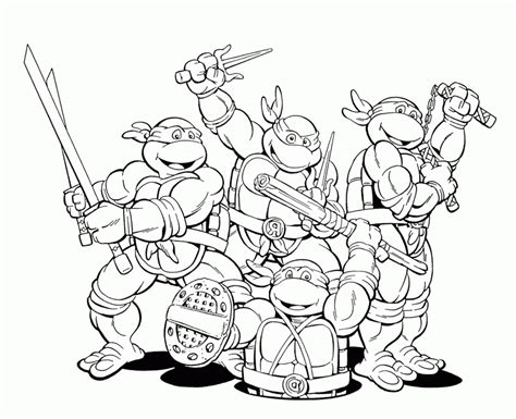 tmnt coloring pages pdf color pages ninja turtles az coloring pages