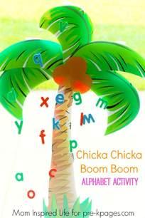 chicka chicka boom boom alphabet activity